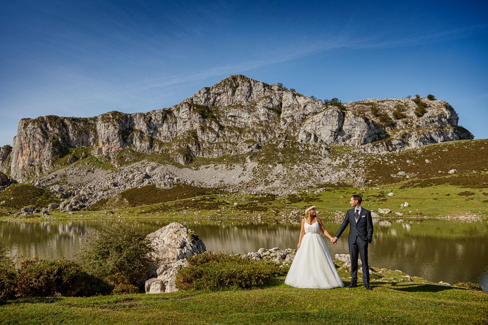 alberto otero postboda lagos de covadonga
